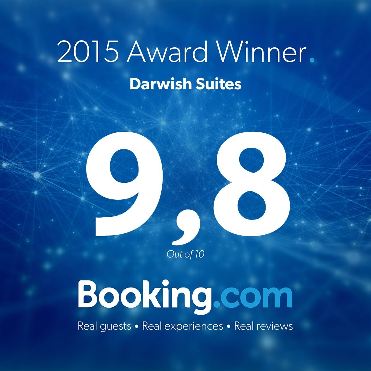 2015 Award - Darwish Suites